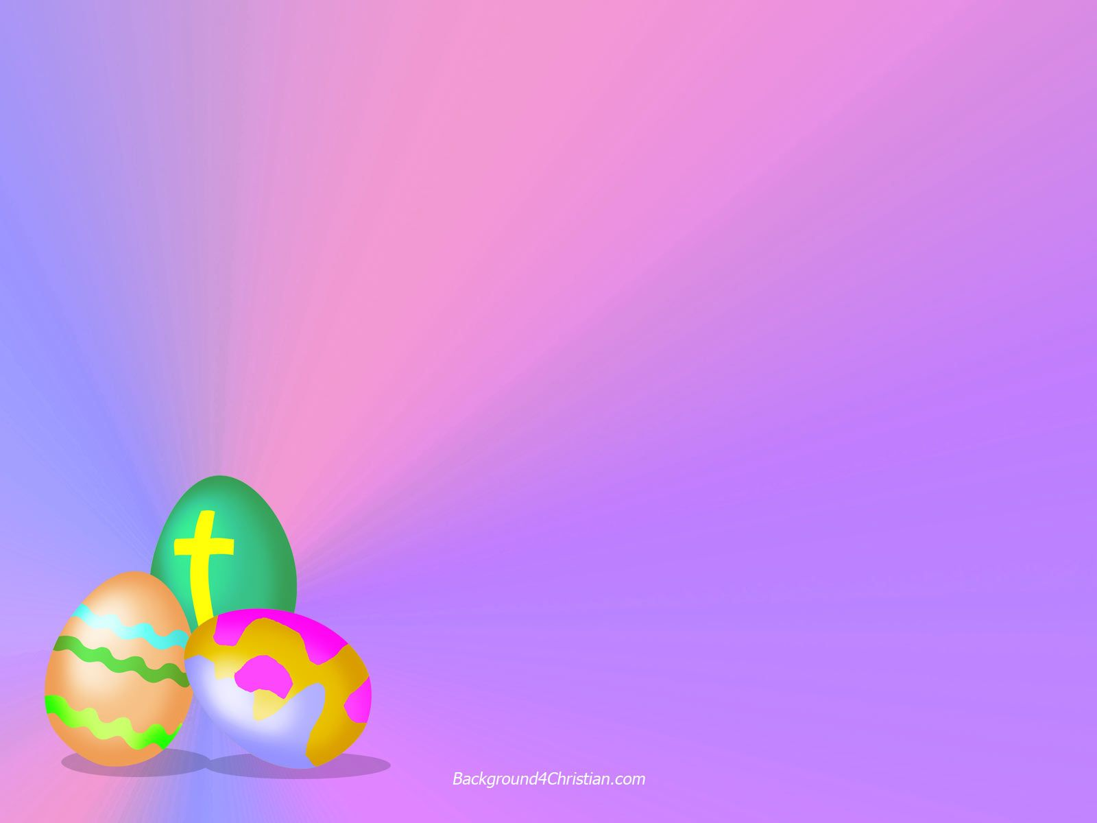 Easter Clipart in Purple.