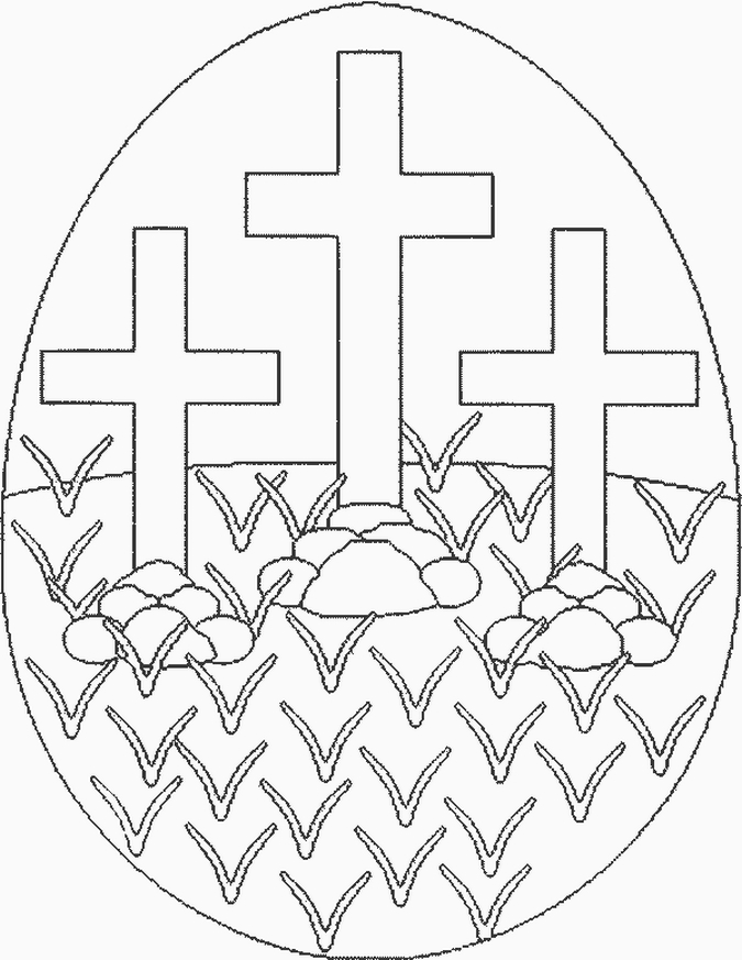 Free Printable Religious Easter Clipart.