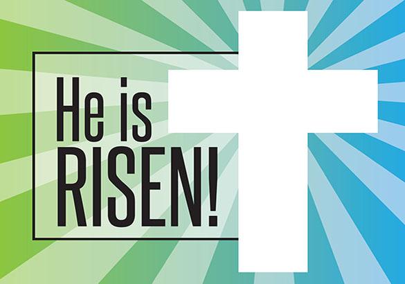 Church Art Easter Christian Clip.