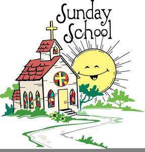 Christian Education Sunday Clipart.