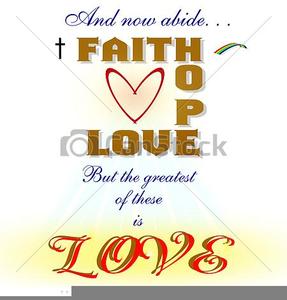 Christian Faith Clipart.