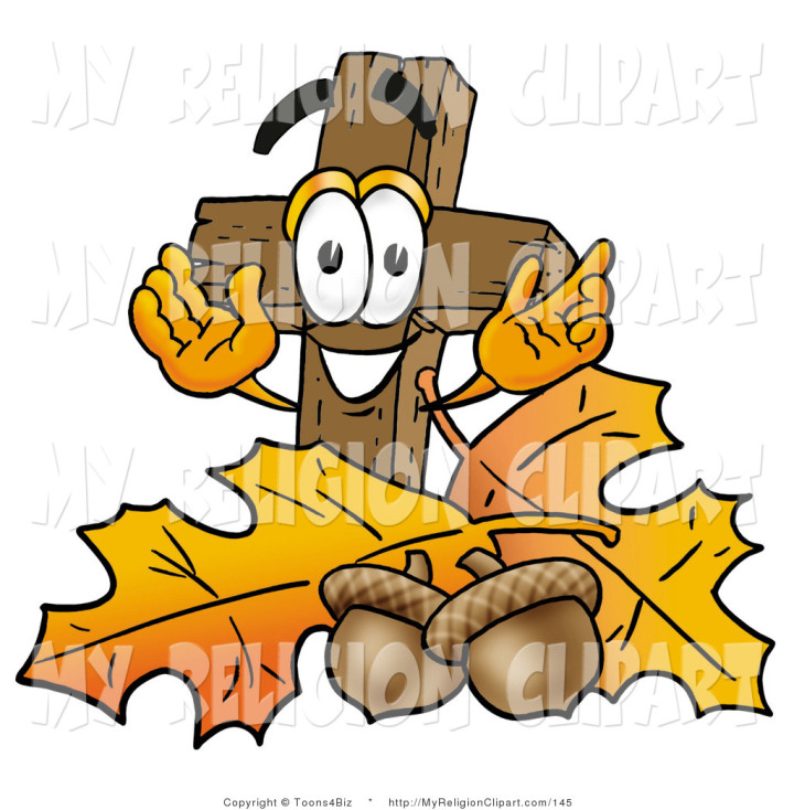 Christian Fall Clip Art N2 free image.