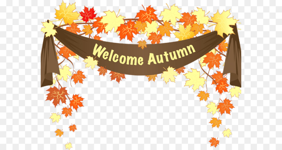 Autumn Leaves Background png download.