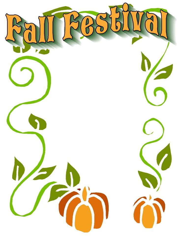 366 Fall Festival free clipart.