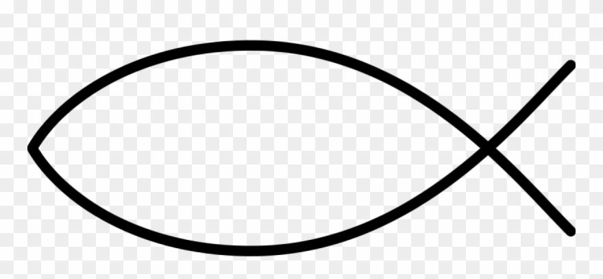 Christian Fish Symbol Clip Art.