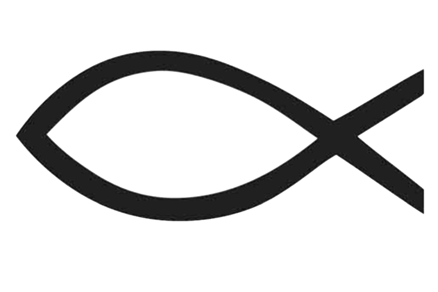 christian fish symbol clipart.