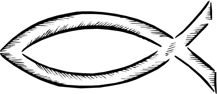 Free Christian Fish Symbol, Download Free Clip Art, Free.