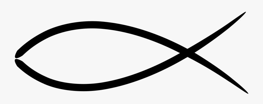Christian Fish Symbol.