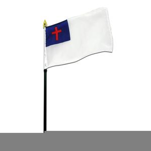 Clipart Christian Flag.