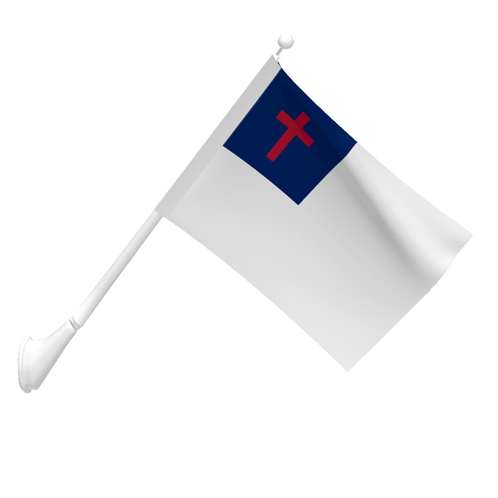 Christian Flag (Dyed).