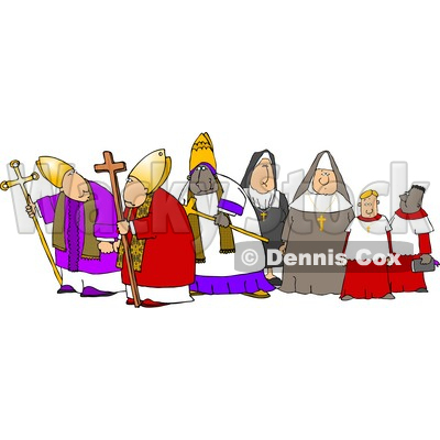Christian Clipart by Dennis Cox.