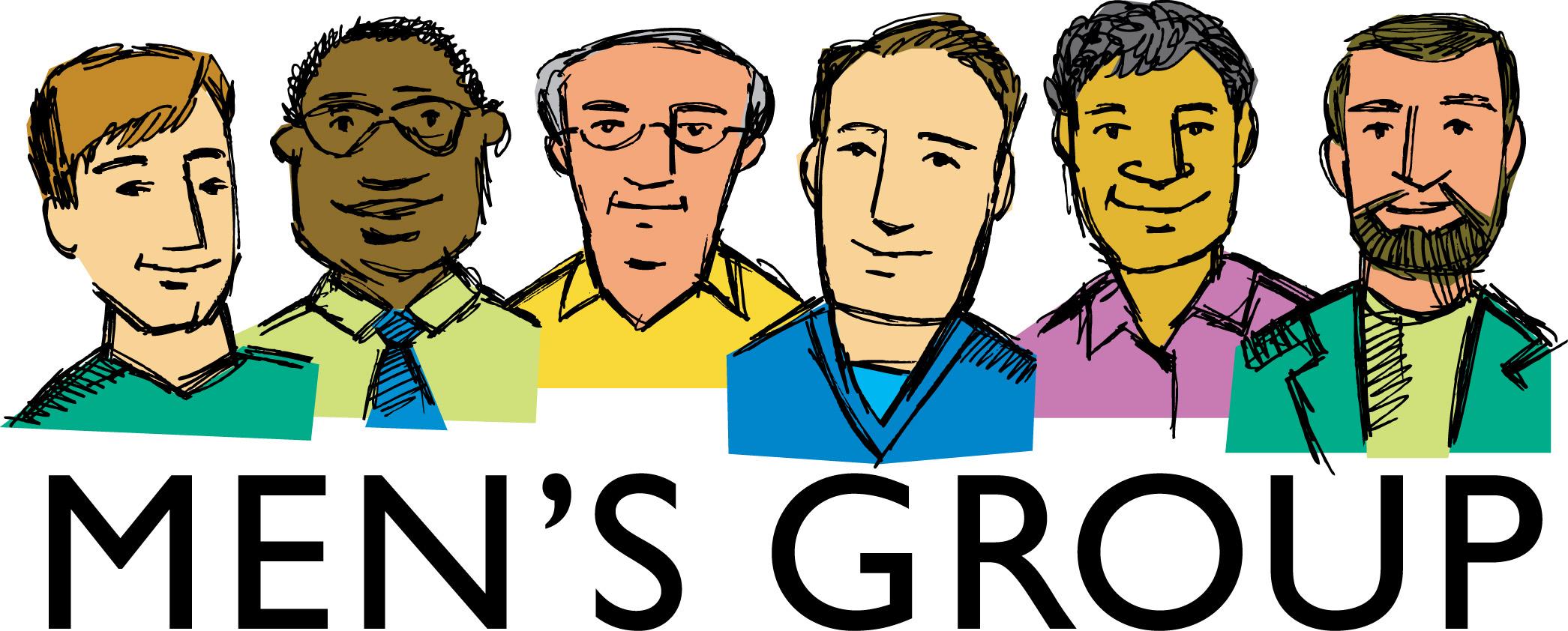 Christian Men's Group Clipart.