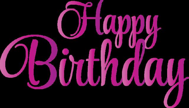 Birthday Cliparts Pink.