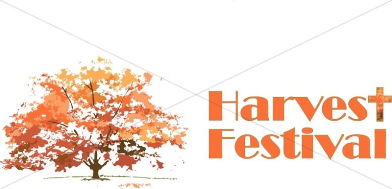 Fall Tree Harvest Festival.