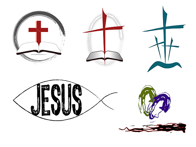 19 Christian Vector Designs Images.
