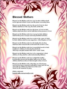 Free Religious Mothers Day Clipart.