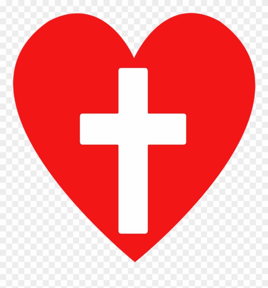 Bible Clipart Png , Christian Heart Clip Art Transparent.