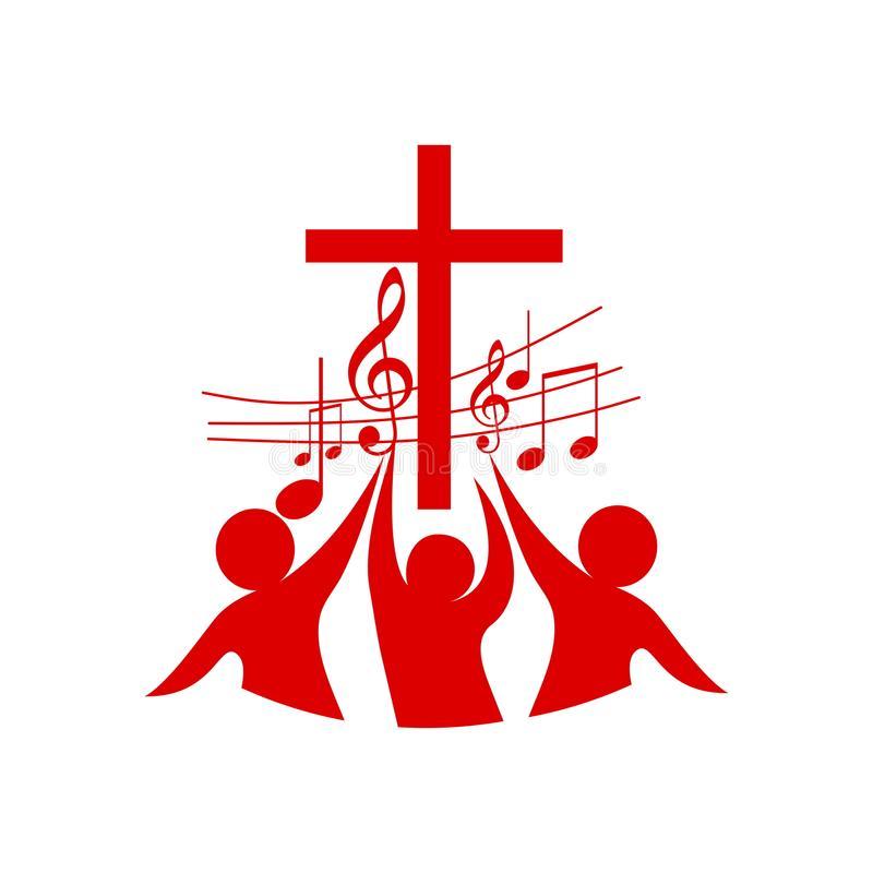 Worship Stock Illustrations.
