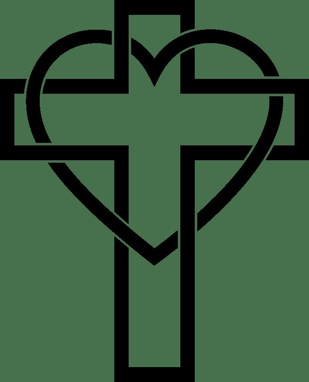 Christian Cross Christianity Religion Sacred Heart.