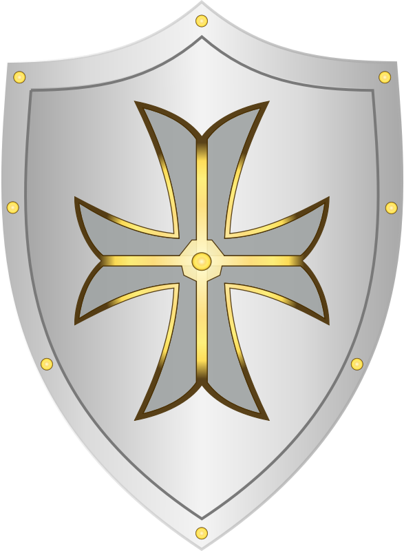 Shield free to use clip art.