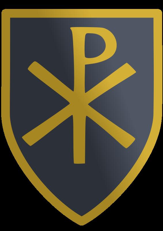 Free Clipart: Christian shield.