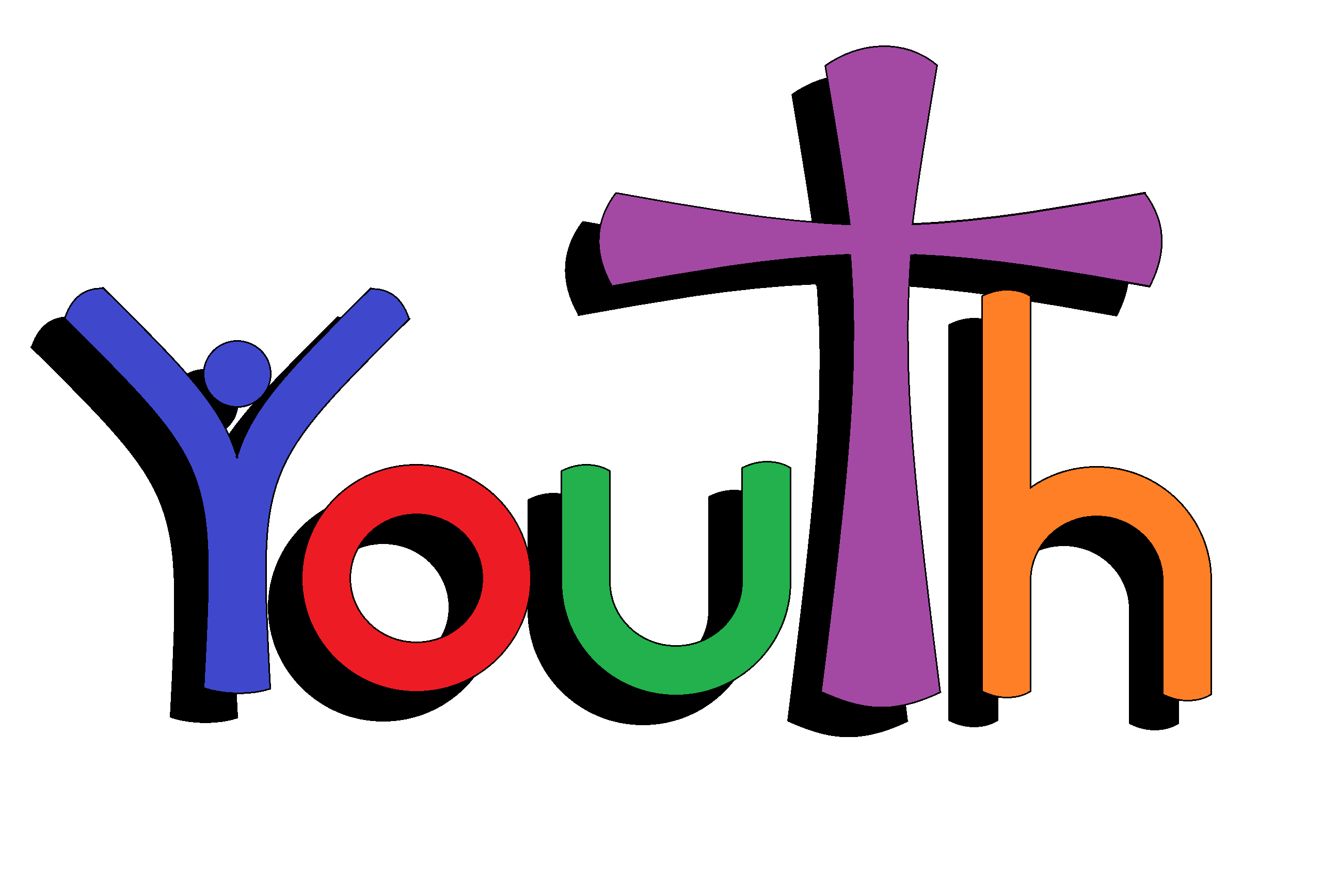 Youth Clipart In Church.