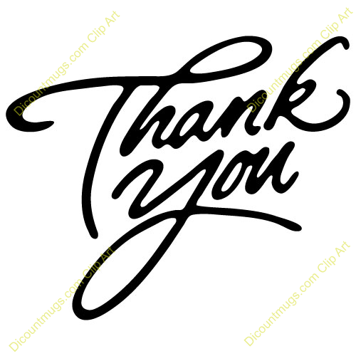 Christian Thank You Clipart.
