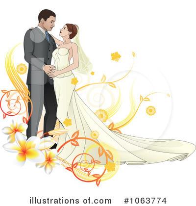 Christian Wedding Clipart Colour.