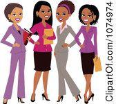 Happy Business Women.