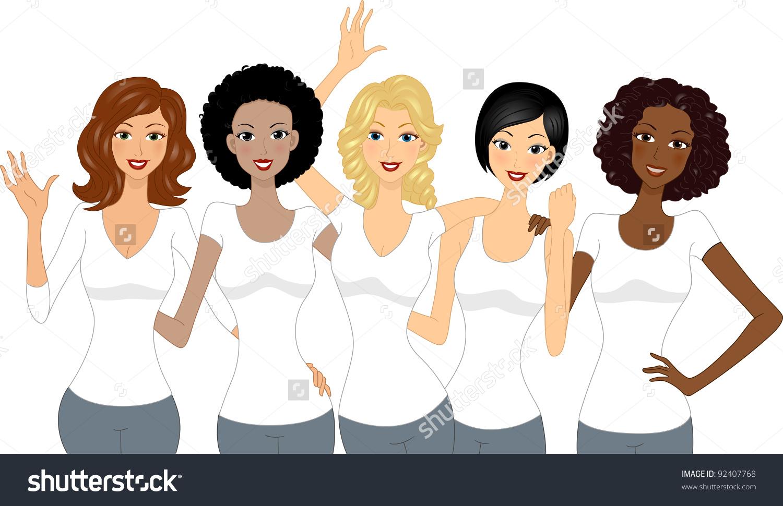 Diverse Christian Woman Clipart & Free Clip Art Images #22293.