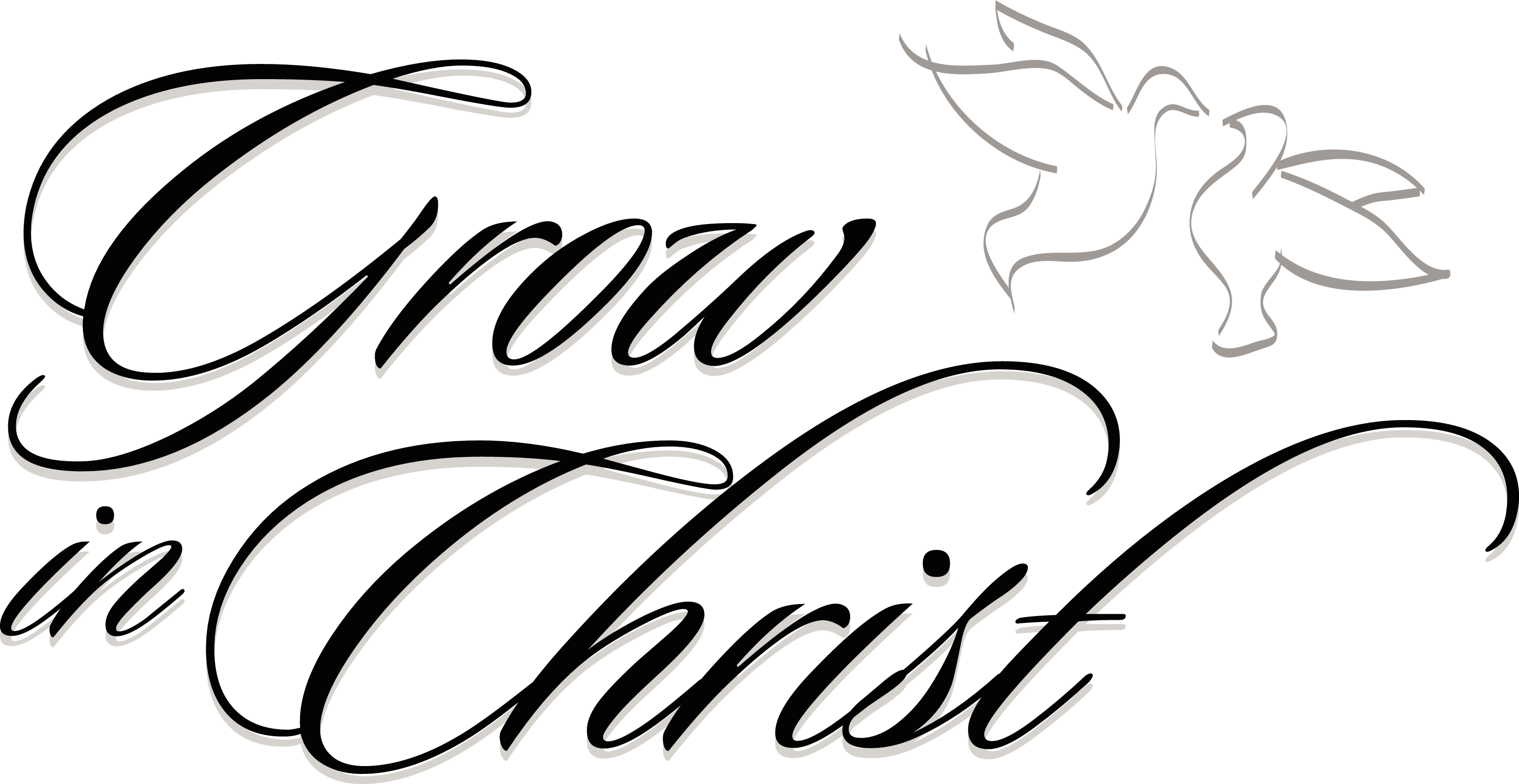 Free Christian Word Clipart.