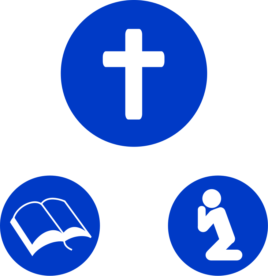 Christian Clip Art Walking With God.