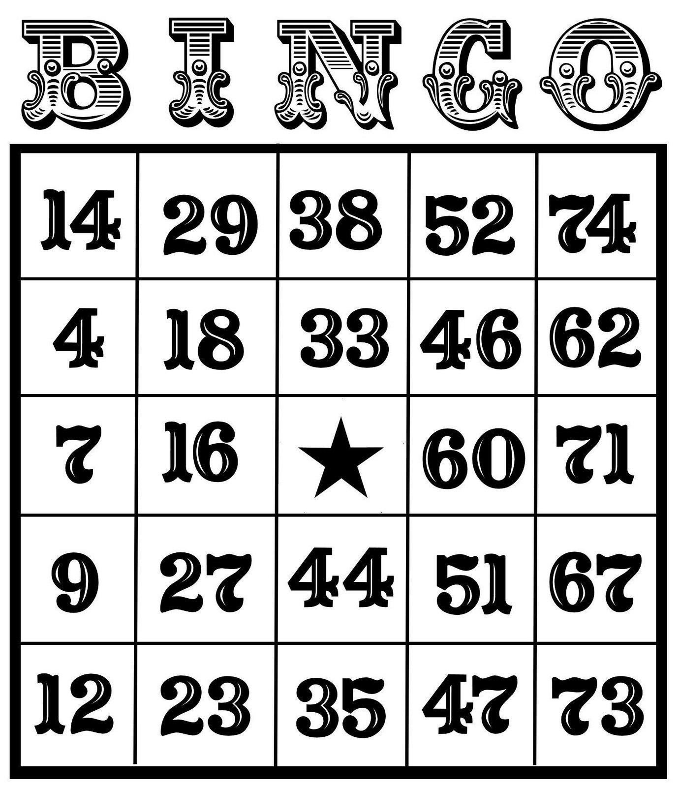 Christine zani bingo card printables to share clip art.