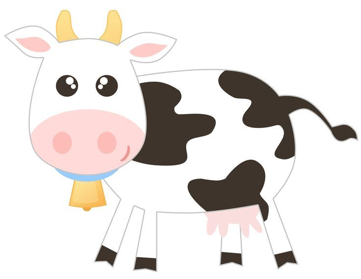1000+ images about Clipart cow on Pinterest.