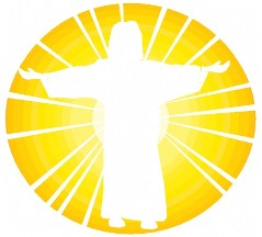 Jesus the light of the world clipart.