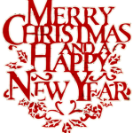 Best Merry Christmas and Happy new year 2016 clip art.