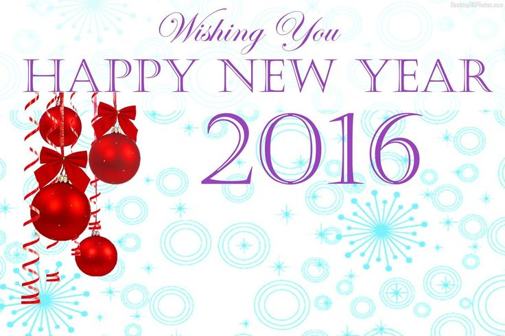 Happy New Year 2016 HD Wallpaper Download.