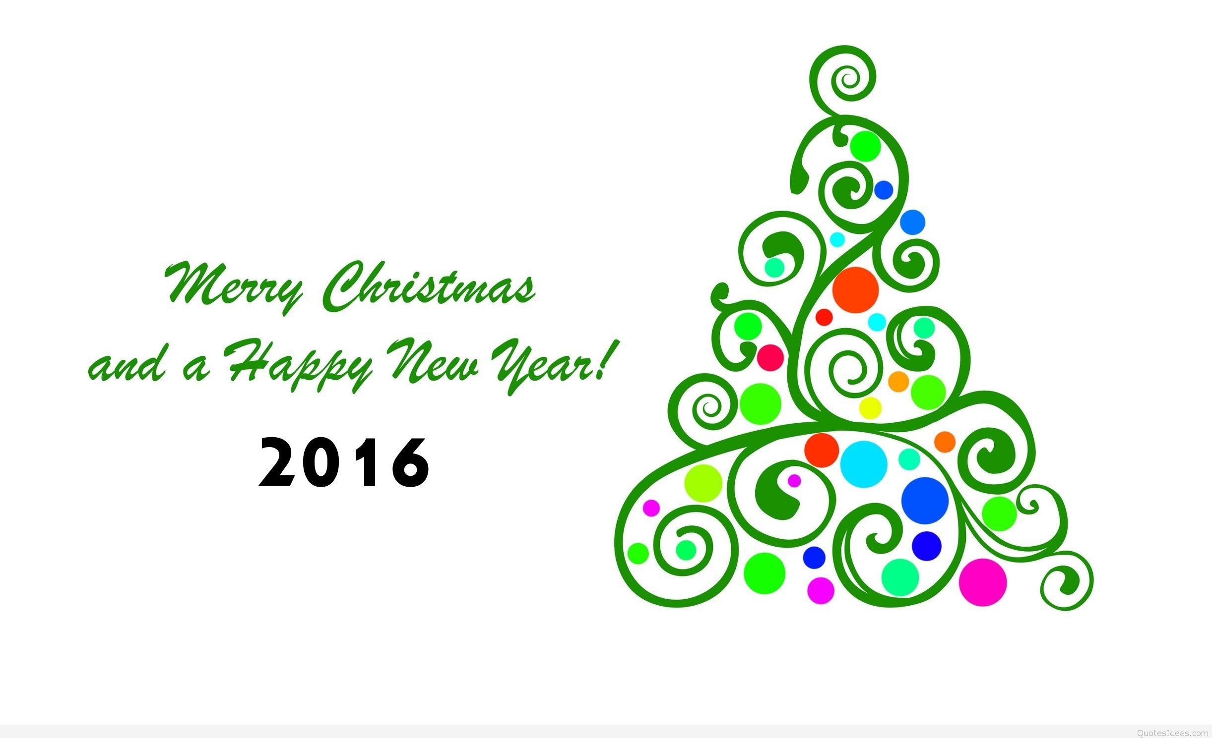 2016 NEW YEAR holiday seasonal christmas wallpaper.