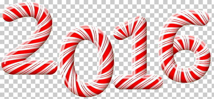 Candy cane Stick candy Christmas , 2016 Candy Cane , 2016 text.