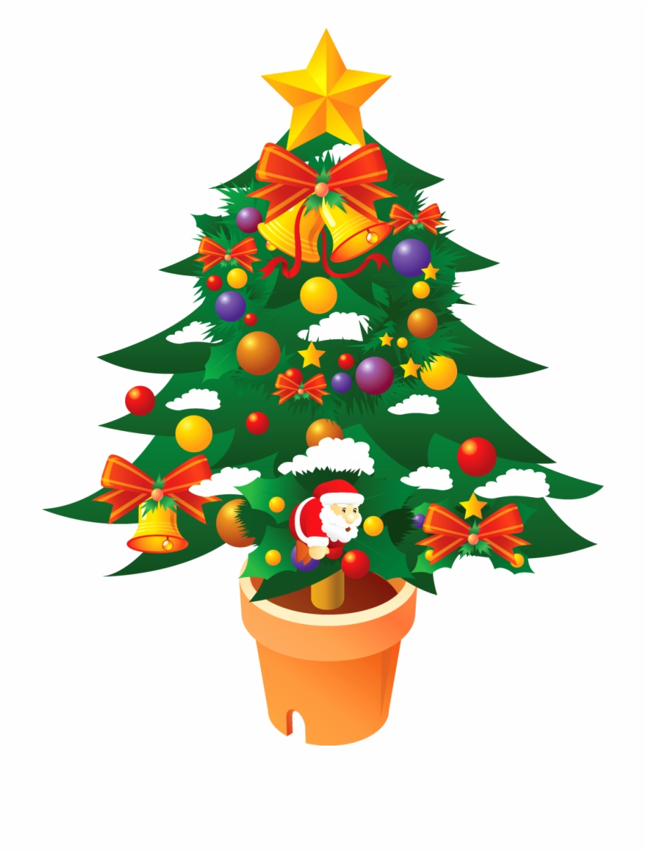 Christmas Tree Clipart Png Merry Christmas 2018 Wishes.