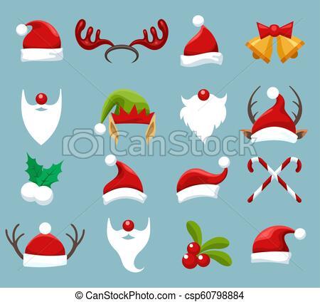 Christmas accessories set.