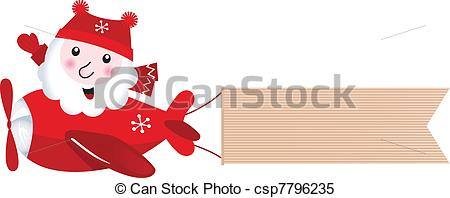 Christmas airplane Clipart Vector and Illustration. 326 Christmas.
