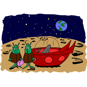 Aliens (colour) clipart, cliparts of Aliens (colour) free.