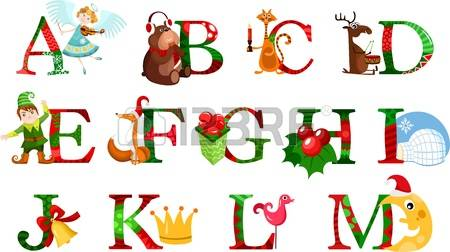 Christmas Alphabet Stock Photos & Pictures. Royalty Free Christmas.