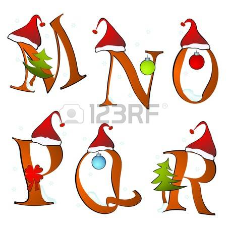 10,174 Christmas Alphabet Cliparts, Stock Vector And Royalty Free.