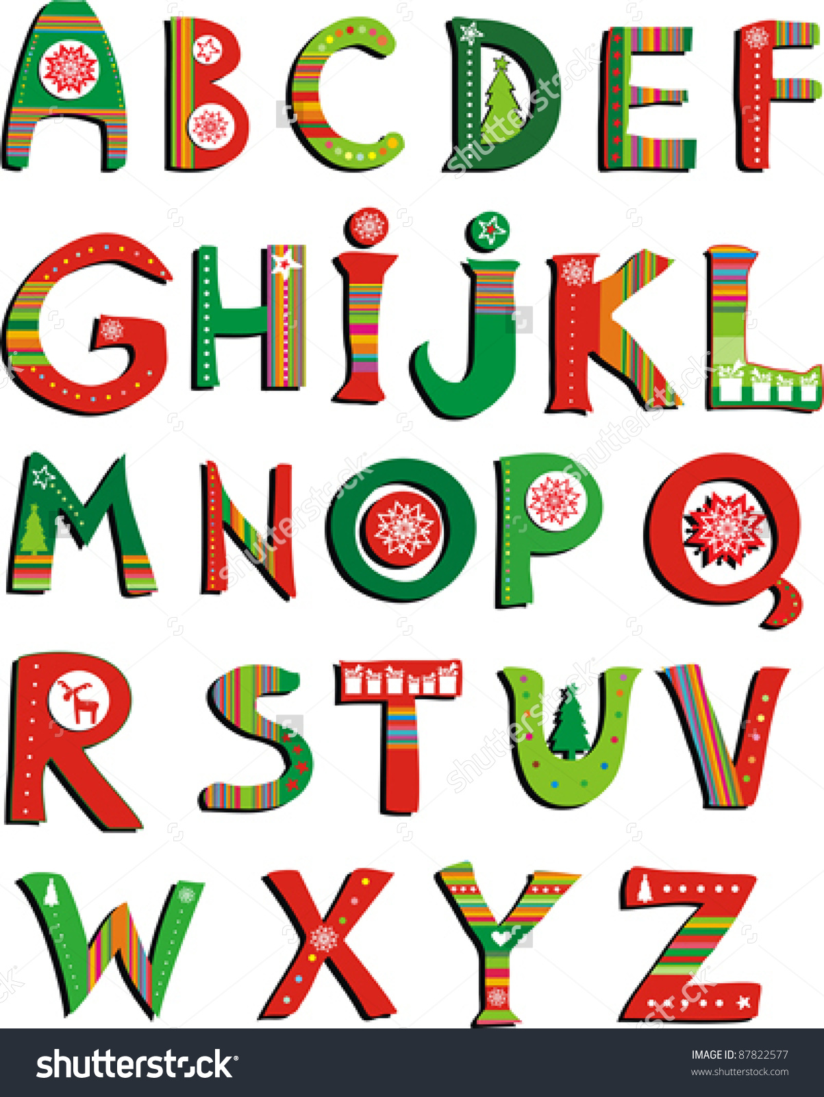 It's just a picture of Current Christmas Letter Clipart