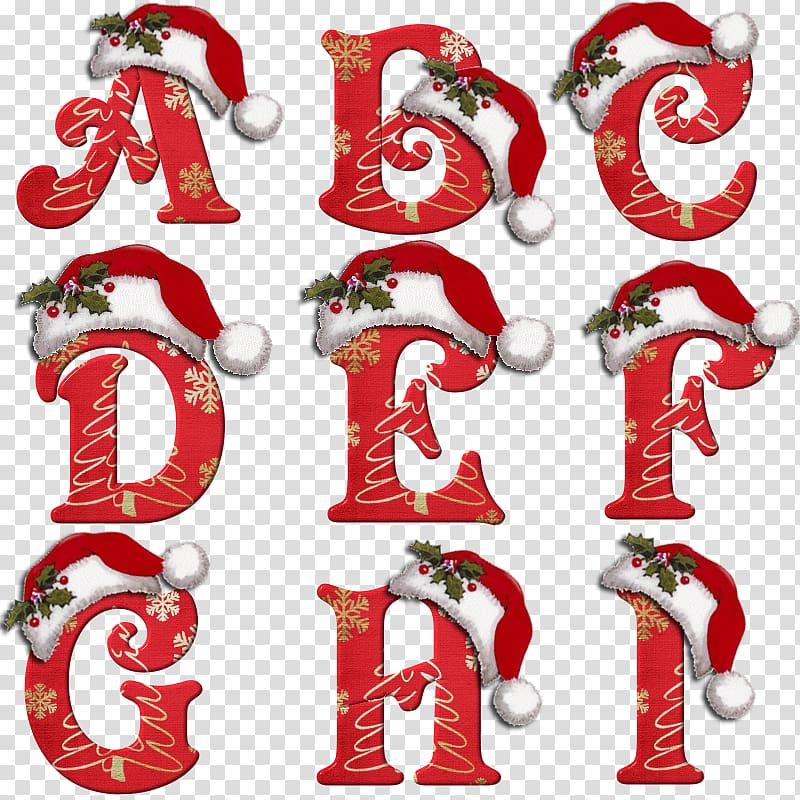 Santa Claus English alphabet Letter Christmas, santa claus.