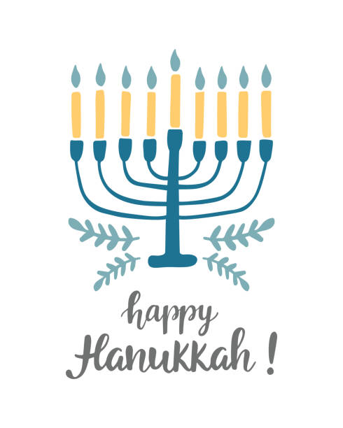 Best Hanukkah Illustrations, Royalty.
