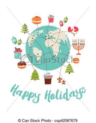 Christmas and hanukkah clipart 4 » Clipart Portal.