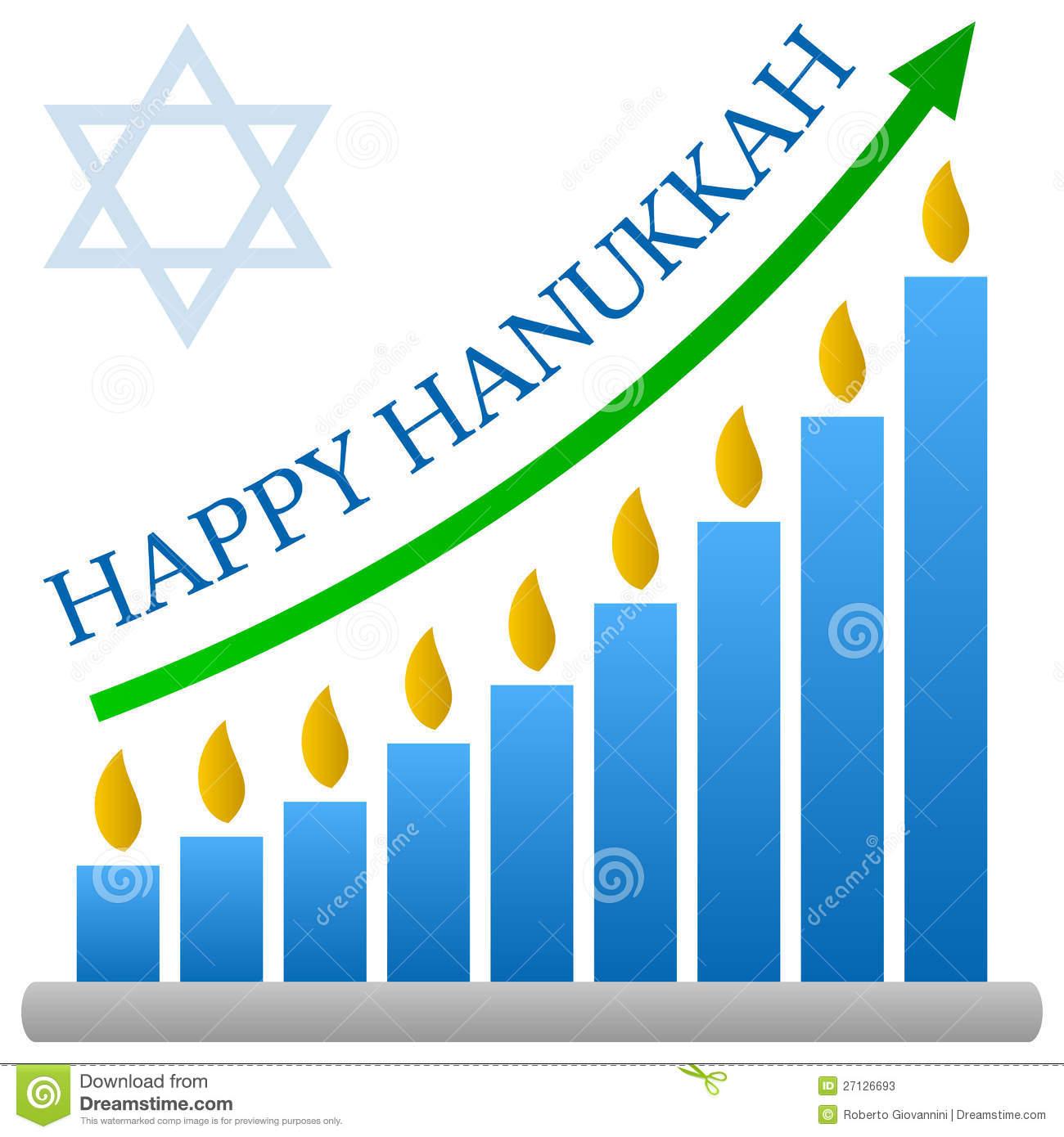 christmas And Hanukkah Clipart.
